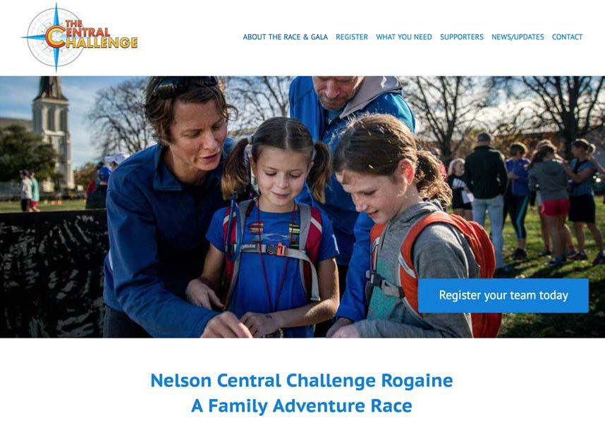 Central challenge Rogaine Website